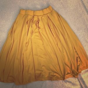 Yellow XS skirt with POCKETS